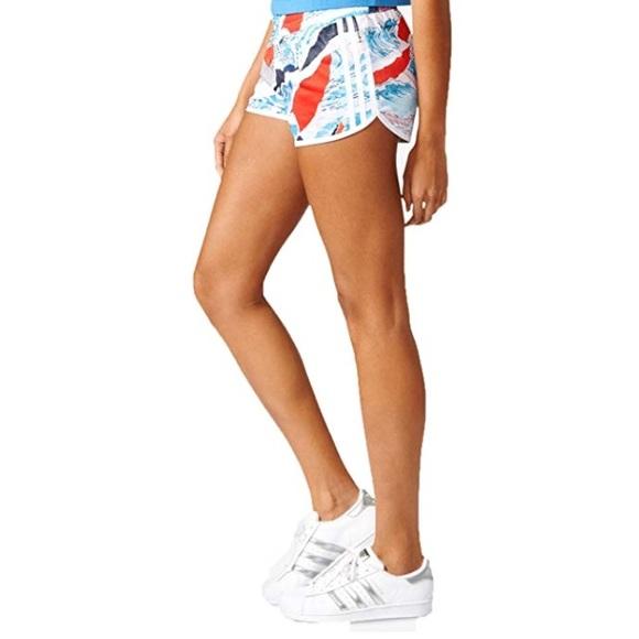 6f9e8a0169b46 Adidas Originals: La Multi Floral 3 Stripes Shorts. NWT. adidas.  M_5b80608cc2e88e7120d5b346. M_5b80608dcdc7f7a36fc35493.  M_5b80608f8869f77750b3a675